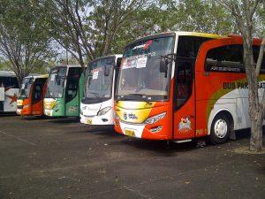 sewa bus jemputan karyawan karawang